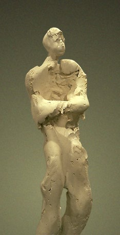 Standing Figure IV - Front Detail