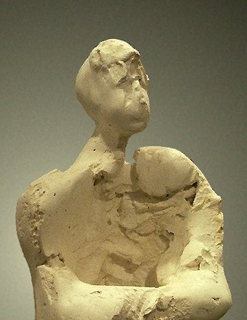 Standing Figure IV - Close Front Detail